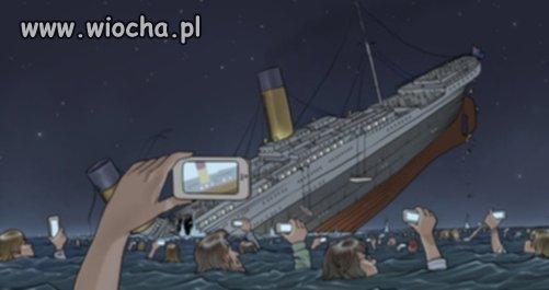 Gdyby Titanic tonął dzisiaj...