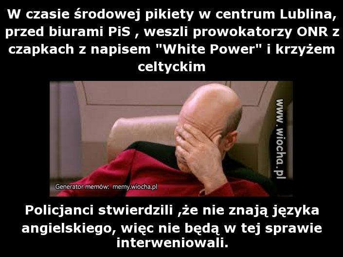 Tylko w Polsce są tak ofiarni  policjanci