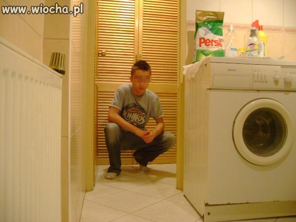 Reklama proszku do prania?