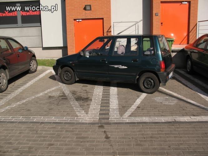 Parkowanie na kopercie
