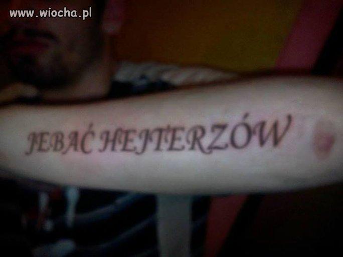 """je*ać hejterZów"""