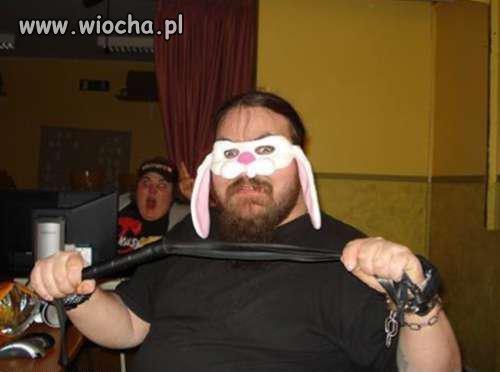 Groźny króliczek