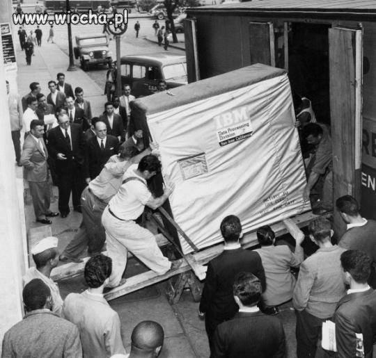 W 1956 roku dostarczanie klientowi dodatkowych 5MB