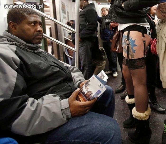 Niepewność w metrze.