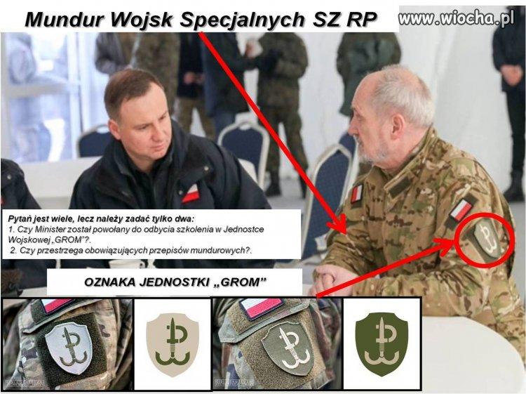 Żołnierz rezerwy, nie może nosić munduru polowego