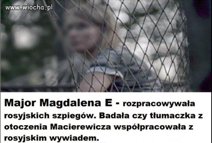 Tropiła w Polsce Rosyjskich szpiegów