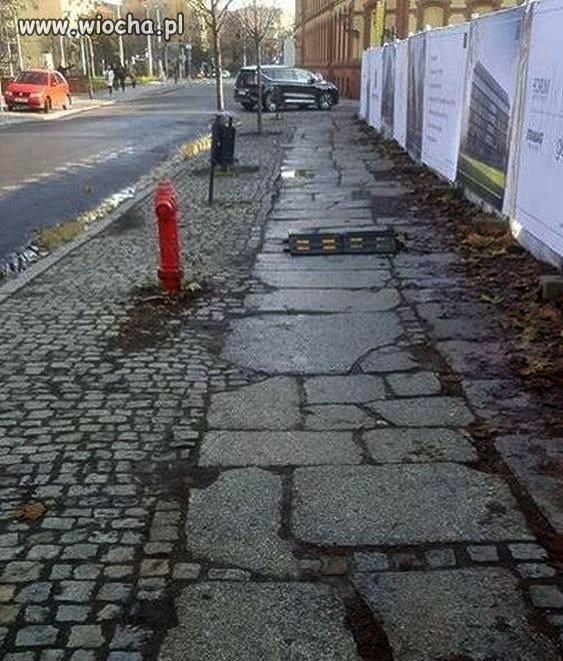 Próg zwalniający dla pieszych
