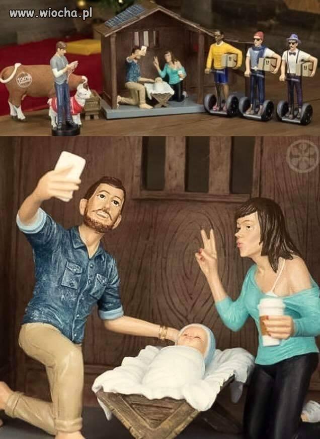 Boże Narodzenie na Facebooku