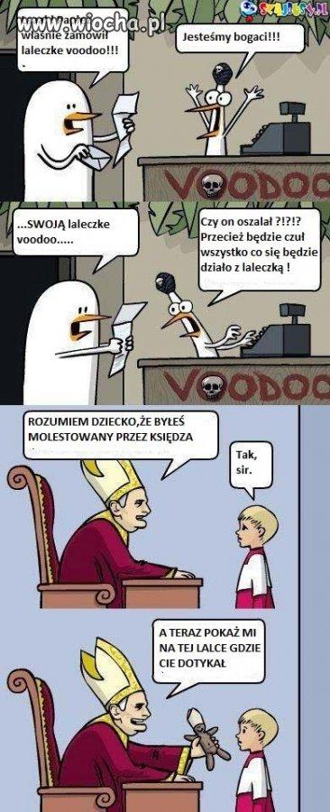 Papie� zam�wi� laleczk� voodoo !!!