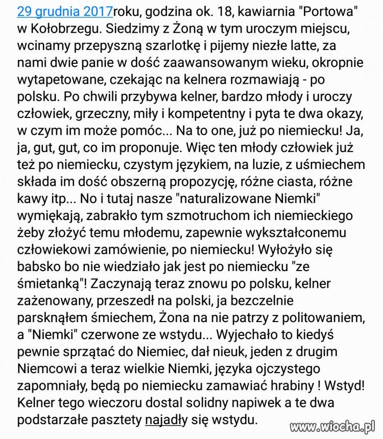 """Dwie """"Niemki"""" w Kołobrzegu"""