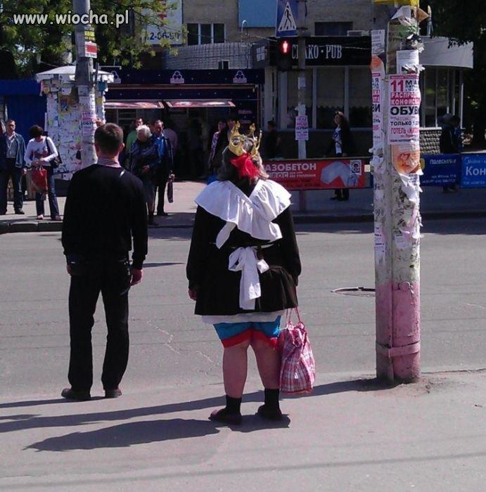 Królowa na ulicy...