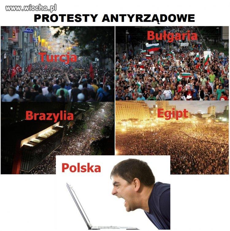 Protesty antyrządowe
