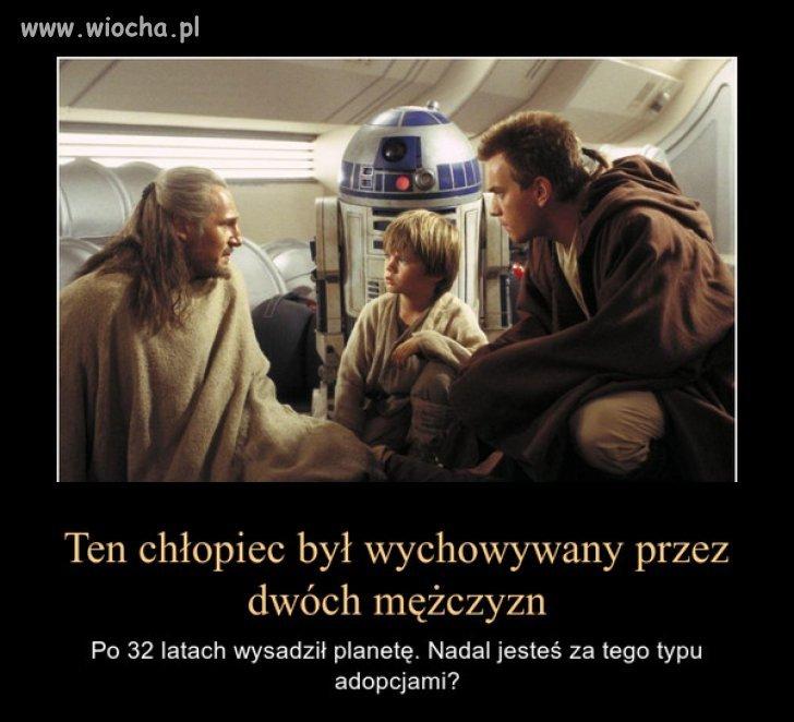 """I jak tu nie wierzyć przesłaniu """"Star Wars"""""""