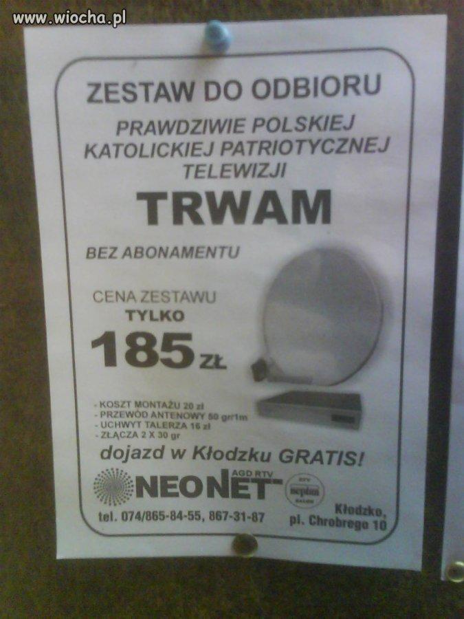 Tadeusz Rydzyk Wam --TRWAM