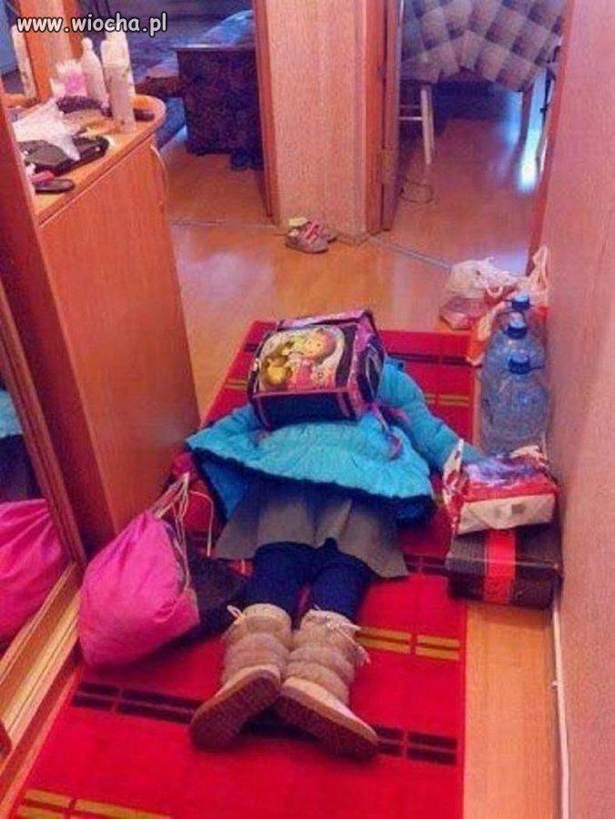 Pierwszy dzień szkoły i już...