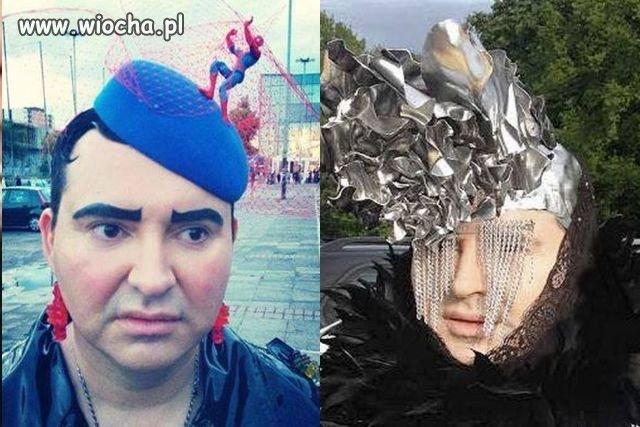 """Męska """"Lady Gaga"""" ?"""