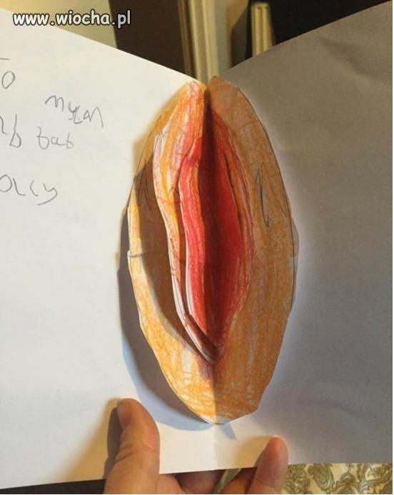 To miała być kartka Wielkanocna z jajkiem
