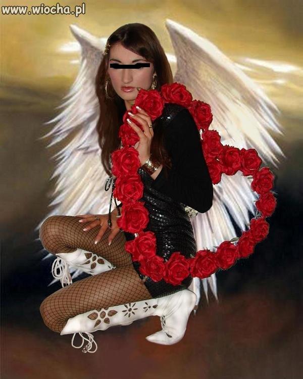 Prwadziwy anioł