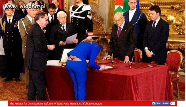 Włosi to mają fajny rząd