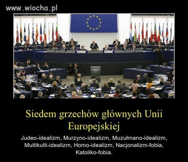 Siedem Grzechów Głównych UE