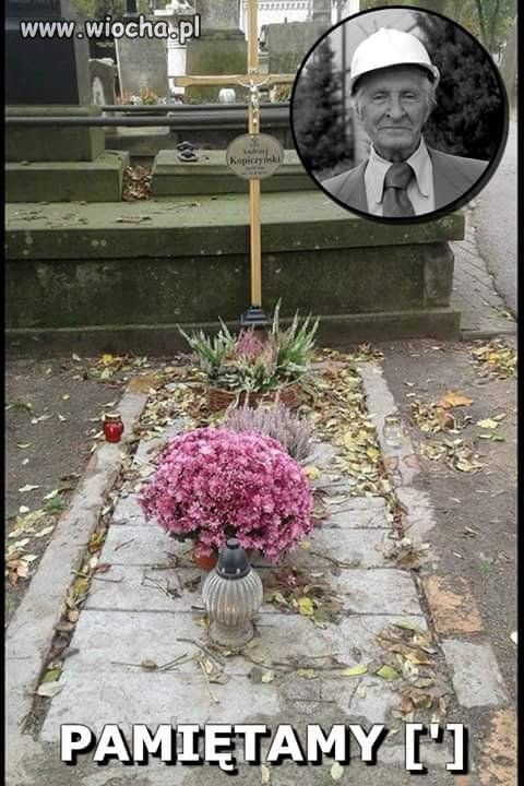 Tak rok po odejściu wygląda grób