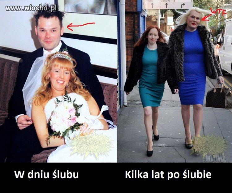 Mąż zmienił się po ślubie