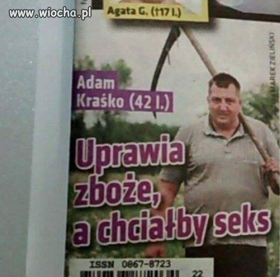 """DRAMAT W """"ROLNIK SZUKA �ONY"""""""