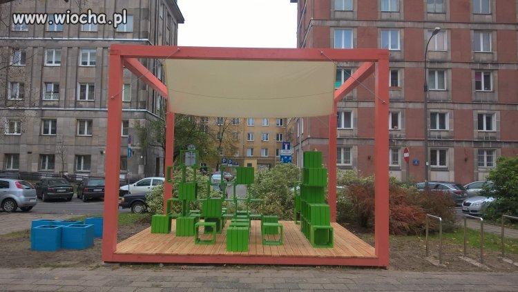 Warszawa. okolice Placu Hallera - Altana sąsiedzka