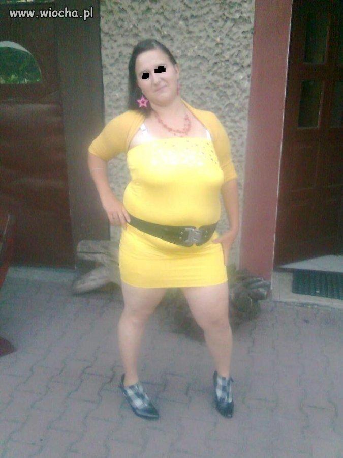 Żółciutka dziunia