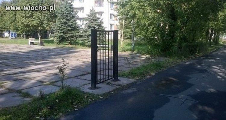 Bramka zamknięta ...