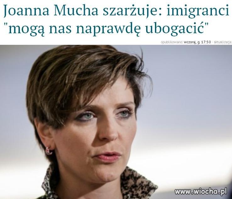 Ministrę z PO