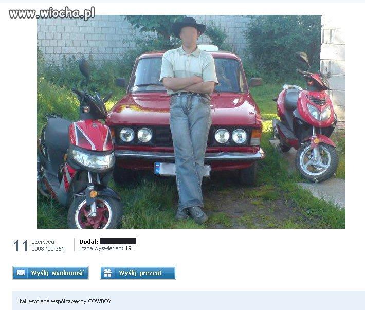 Tak wygląda współczesny Cowboy