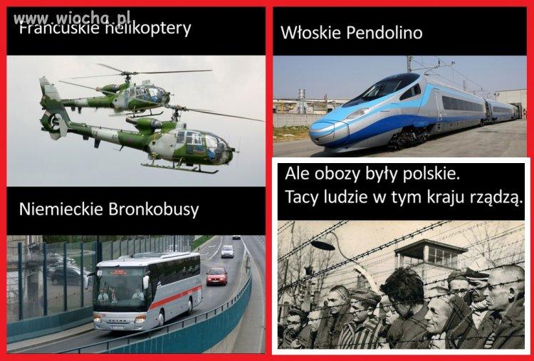 """Wszystko zagraniczne, ale """"obozy były polskie"""""""