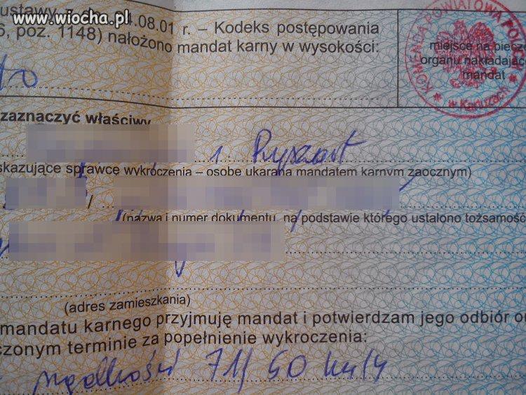 Polska policja...