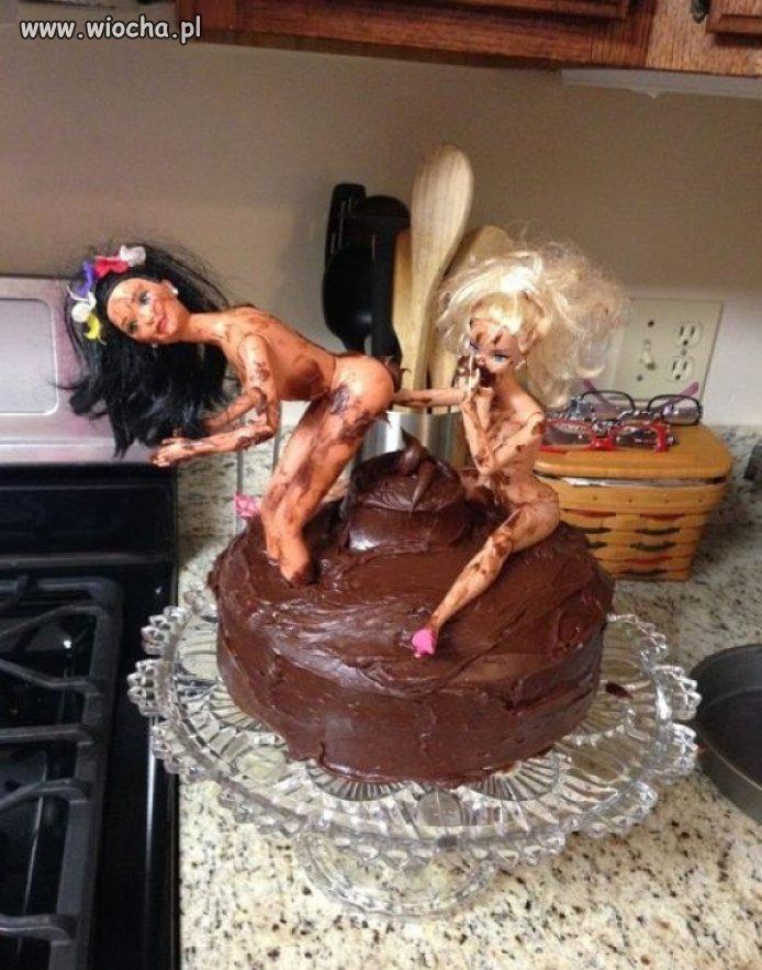 Tort dla zboka.