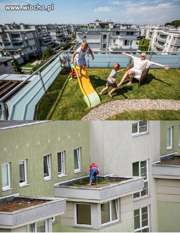 Mieszkanie z zielonym ogrodem...mówili