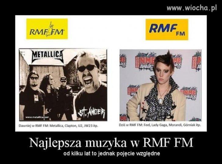 Najlepsza muzyka w RMF? Ja wątpię...