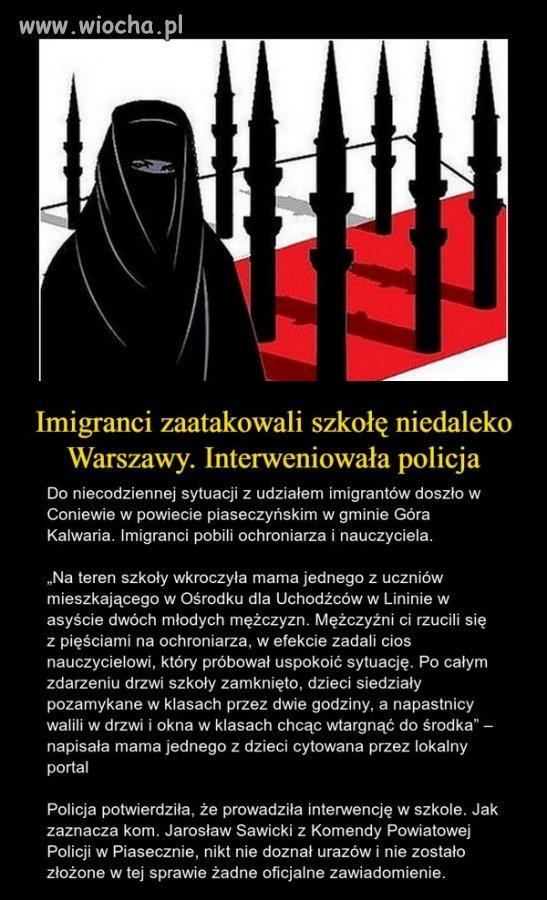 Uchodźcy zaczynają się integrować z Polakami.