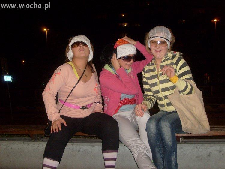 Dziewczyny ze wsi wybrały się do miasta