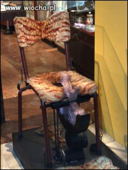 Krzesło tortur?