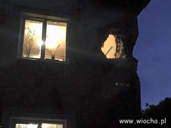 Donbas nocą.
