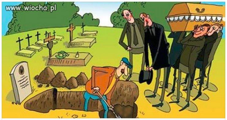 Ten grób pasuje pod każdego polityka