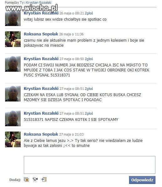 Facebookowy �igolo