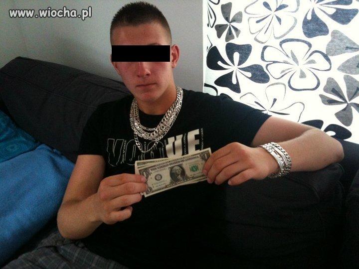 Grube dolary prosto z USA