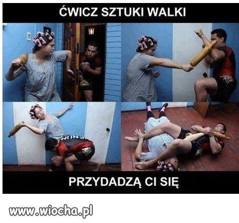 Ćwicz sztuki walki.