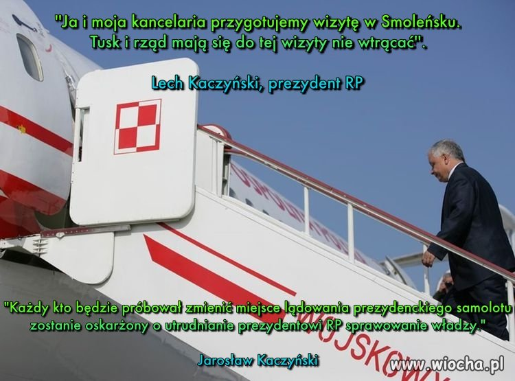 Kto był winny złej organizacji lotu do Smoleńska?