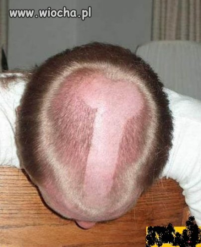 Fajna fryzura