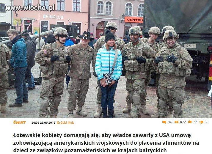 Łotyszki już się zabezpieczają