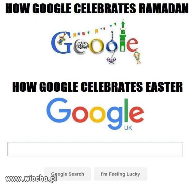 Jak google świętuje ramadan