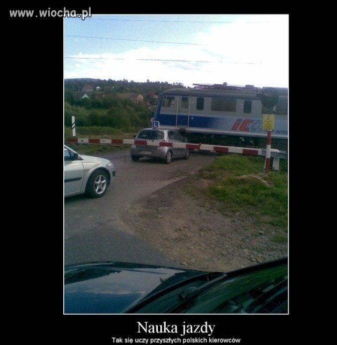 Nauka jazdy...